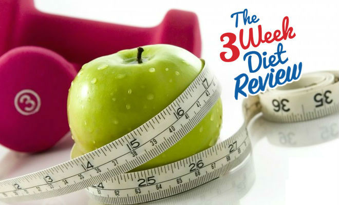 3 Week Diet Review