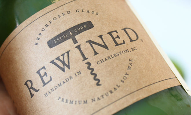 Rewined Pinot Grigio Hygge Candle